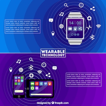 Wearable technology template collection