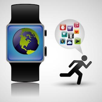 Wearable technology tracker fitness health