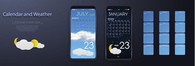 Weather design template