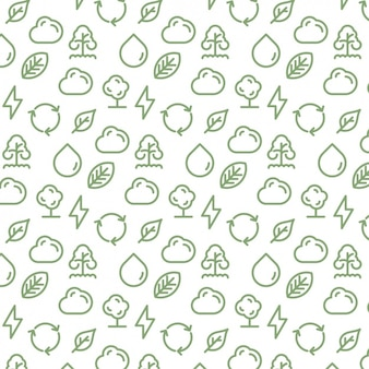 Weather elements pattern design