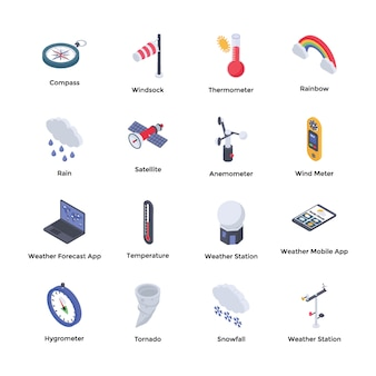 Weather forecaster icons