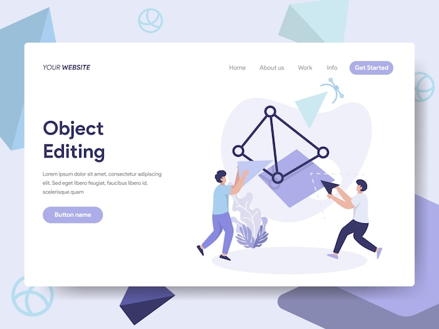 Webページの3d印刷オブジェクト編集図