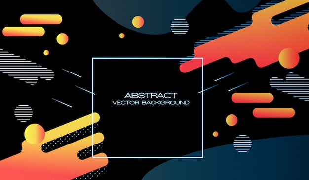 Web abstract vector background design