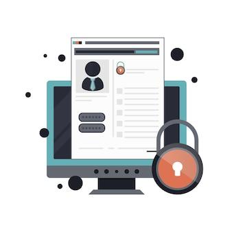 Значок учетной записи в интернете