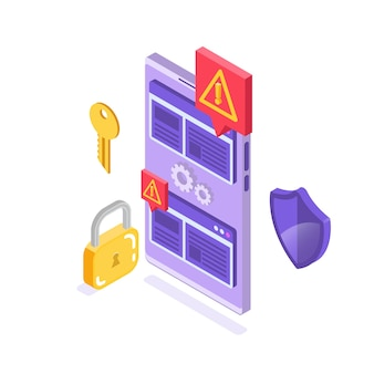 Web禁止バイパス、インターネット検閲バイパス。コンテンツ制御のブロック、不快なチャットメッセージングのフィルタリング。 Premiumベクター