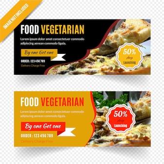 Дизайн веб-баннера для ресторана