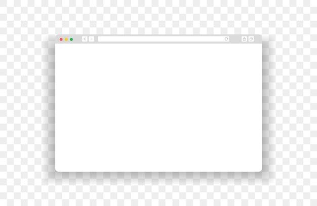 웹 브라우저 창 어두운 ui 템플릿입니다. 컴퓨터용 모형 웹 페이지 창입니다.