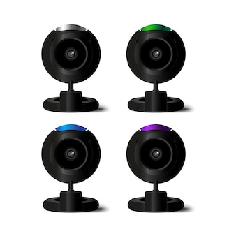 Web camera: 4 colors