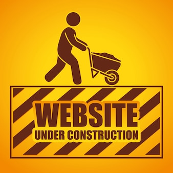 Web under construction design