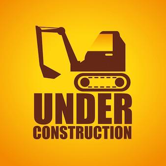 Web under construction design
