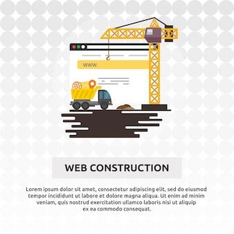 Web construction