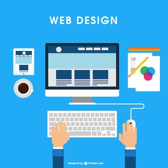 Web design desk