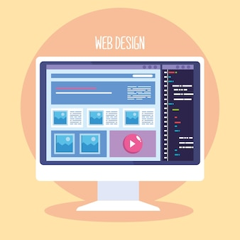 Web design in desktop