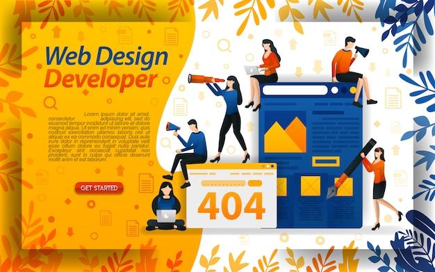 Web design developer
