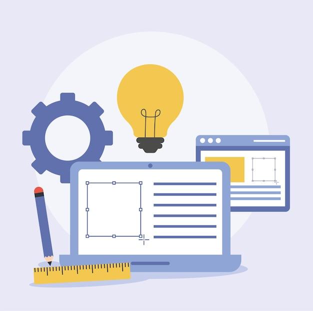 Web design items