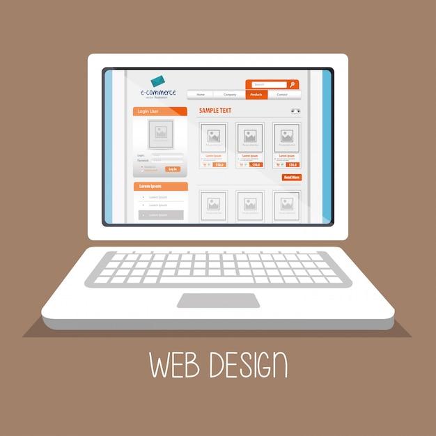 Web design online media