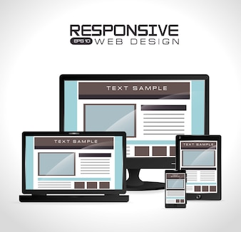 Web design, vector illustration.