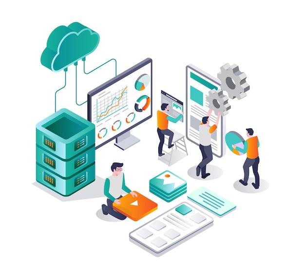 Web developer and hosting