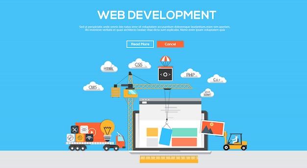 Web development banner