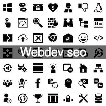 Web development icons pack