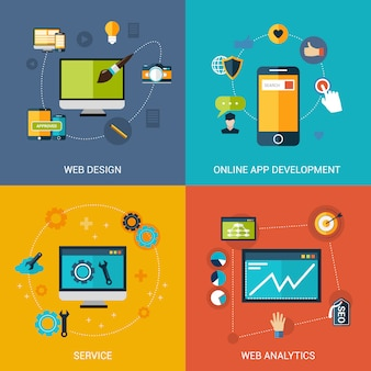 Web development set