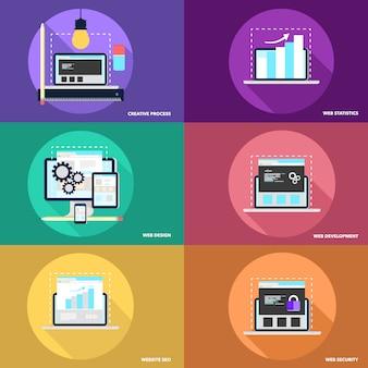Raccolta di elementi web