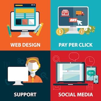 Web elements design