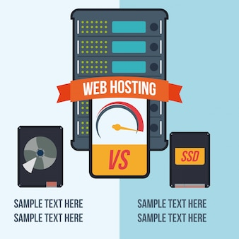 Web hosting design.