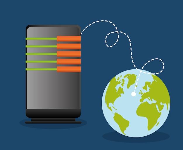 Web hosting planet design
