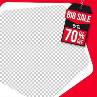 販売バナーwebソーシャルメディアinstagram
