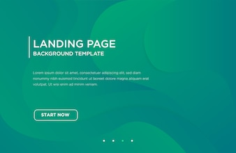 Web landing page banner or background template