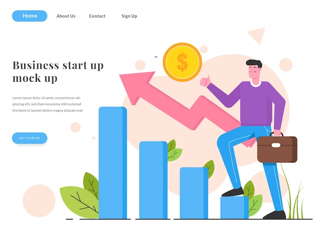 Webランディングページビジネス増加図