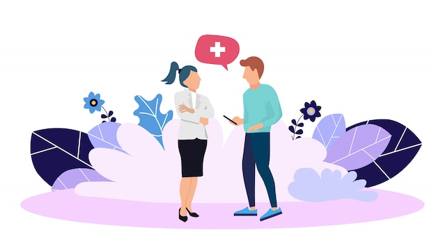 건강 보험을위한 웹 페이지 디자인 템플릿