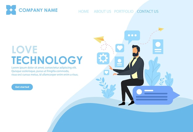 웹사이트 개발을 위한 웹 페이지 디자인 템플릿입니다. 개발자를 위한 최소한의 ui 디자인으로 웹사이트 ui 디자인.