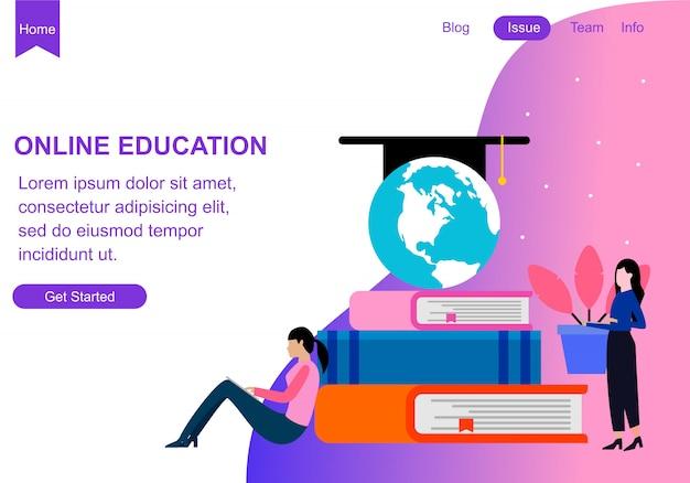 Шаблоны веб-страниц для образования