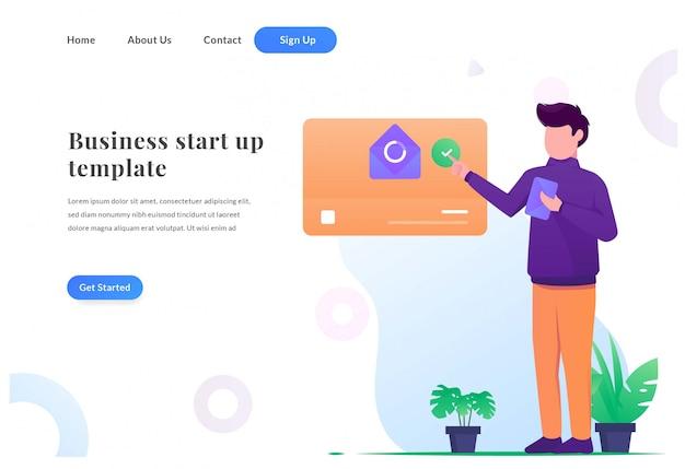 ビジネスwebランディングページ管理