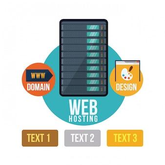 Webホスティングデザイン