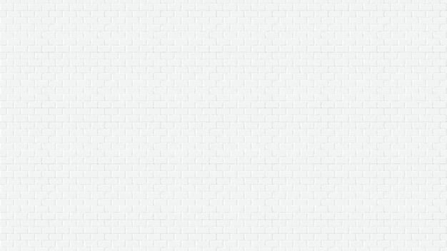 白いレンガの壁のwebページ画面サイズの背景イラスト