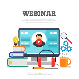 webinars give you comfort of learning at home