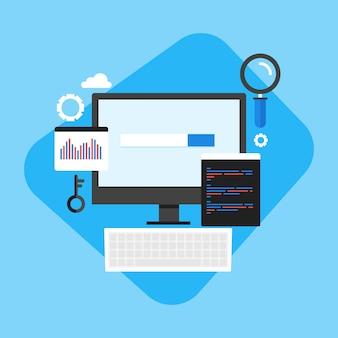 Website code development