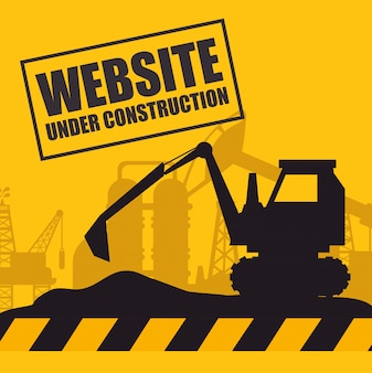 Website under construction design