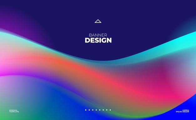 웹 사이트 헤더 또는 배너 디자인