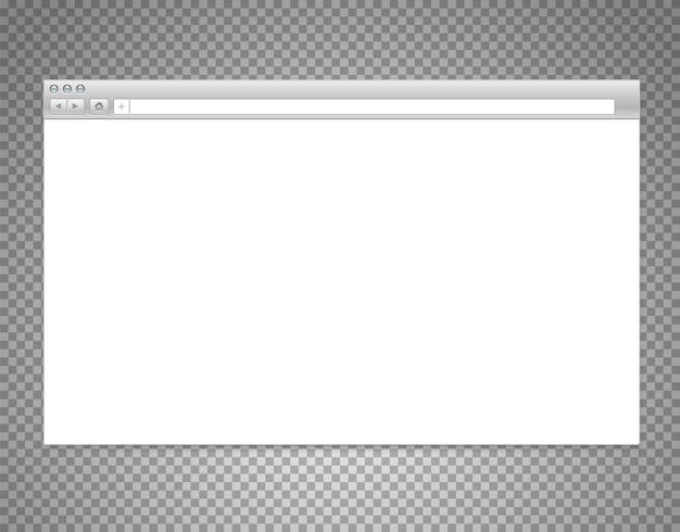 Website window blank