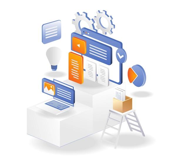Управление креативным контентом webweb и блогов