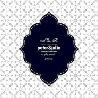 Wedding background with arabic style