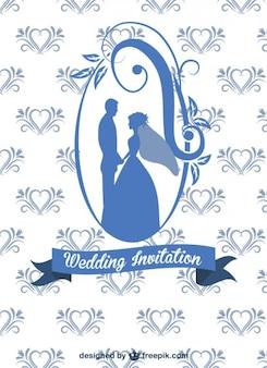 結婚式のカードデザイン