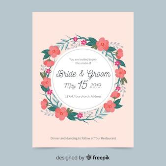 Wedding card template