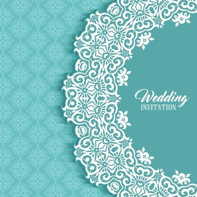 Free Wedding Card With A Cute Ornamental Frame Svg Dxf Eps