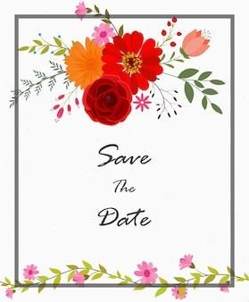 결혼식 축하 카드 디자인