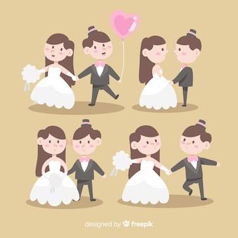 웨딩 커플 캐릭터 컬렉션